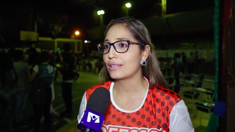 Surama Cunha, diretora da Escola Estadual Dr. Geraldo Veloso.
