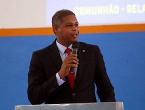 Pastor Fábio Tavares, líder de Mordomia Cristã da ASPA.