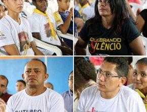 Líderes de diversas áreas da Igreja participam do evento.