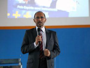 Presidente da ASPA, pastor Samuel Bastos.