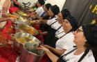 Ministério do Sopão Solidário atende mais de 100 pessoas e realiza ceia de Natal