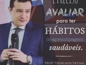 Profº Henilson Erhtal, anfitrião do encontro, também acredita que é possível ir além da sala de aula.