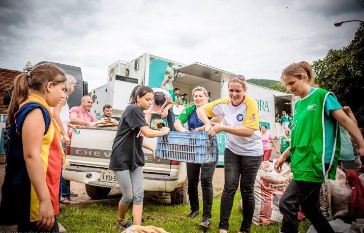 ADRA Sul-americana atendeu meio milhão de pessoas em 2017