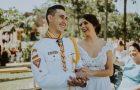 Noivo realiza sonho de se casar com uniforme dos desbravadores