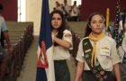 Desbravadores apresentam clube para alunos de colégio, no Rio