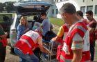 Jovens adventistas ajudam vítimas de desabamento em SP