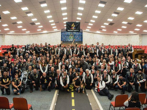 Cerca de 100 motociclistas adventistas dos estados de São Paulo e Paraná marcaram presença em Engenheiro Coelho.