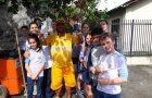 Garis de Joinville recebem homenagens de alunos em seu dia