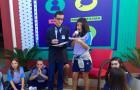 Alunos simulam telejornal em comemoração ao Dia Nacional da Imprensa