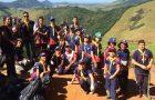 Adolescentes realizam ação social na comunidade de Formate em Viana