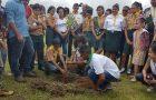 Desbravadores participam de ação ambiental na Bahia