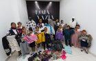 Aventureiros doam roupas para loja de shopping em Betim (MG)