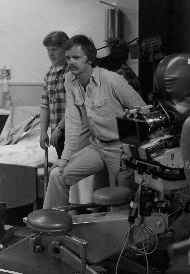 """Donald Davenport no estúdio """"Doomsdale Ward"""", em 1978 (Foto: Arquivo pessoal)"""
