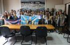Clube de Desbravadores visita Prefeitura de São José do Norte