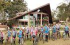 Clínica Adventista recebe grupo de ciclistas