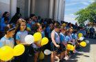 500 pessoas participam de ação de Setembro Amarelo em Assis