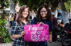 Jovens promovem ações sociais em Guaramiranga