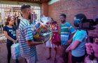 Ações de compaixão marcam segundo dia de campori em Curitiba