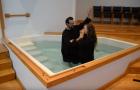 Batismos confirmam reavivamento espiritual em internato
