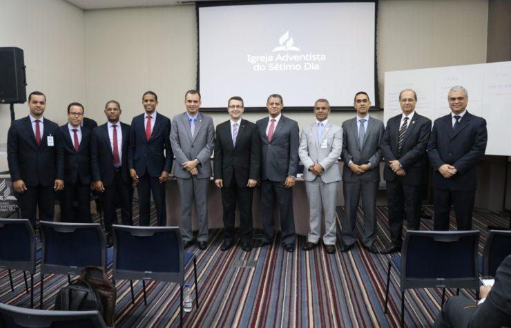 Nomeados líderes para área técnica da Igreja e administração da FADBA
