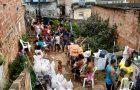 Primeiras cestas do Mutirão de Natal são distribuídas em comunidades carentes de Salvador
