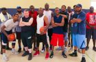 Evangelismo da amizade é fortalecido em quadra de basquete