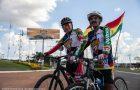 Desbravadores ciclistas atravessam metade da Bolívia e do Brasil