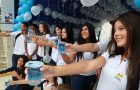 Alunos promovem ações de conscientização sobre o uso da água