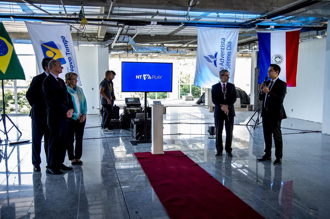 NT Play é lançado em novo prédio da Rede Novo Tempo de Comunicação (foto: Kleiton Pieper)