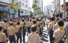 Desbravadores e Aventureiros participam do desfile de aniversário de Sorocaba