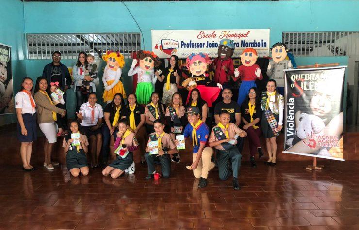 Quebrando o Silêncio orienta alunos da rede pública em Bom Sucesso, no Paraná