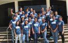 Jovens participam do lançamento do projeto Sonhando Alto em Curitiba