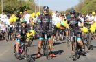 Passeio ciclístico reúne cerca de mil pessoas em Brasília