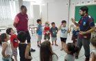 Voluntários da Missão Calebe envolvem crianças em trabalho missionário no RS