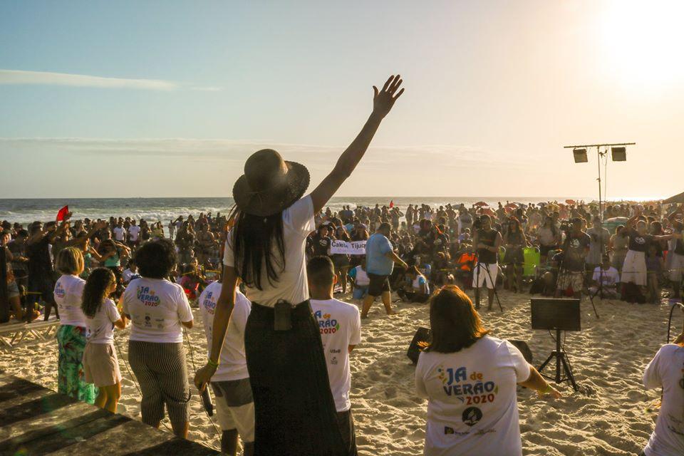 Cantores adventistas participaram da 11ª edição do JA de Verão