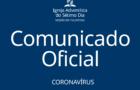 Igreja Adventista Do Sétimo Dia no estado de São Paulo suspende atividades e reuniões em templos