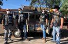 Voluntários arrecadam 400 cestas de alimentos em parceria com moto clubes (Record)