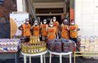 ONG arrecada 160 toneladas de alimentos por mês no Rio