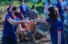 Calebes constroem casa para família carente no interior do Paraná