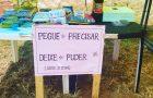 Voluntários criam 'barraca solidária' para ajudar pessoas carentes