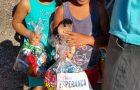 Adventistas doam 200 kits de esperança para crianças carentes no leste paulista