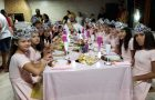 Meninas têm dia de princesa promovido por Clube de Desbravadores