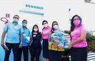 Associação de combate ao câncer recebe mantimentos arrecadados em corrida