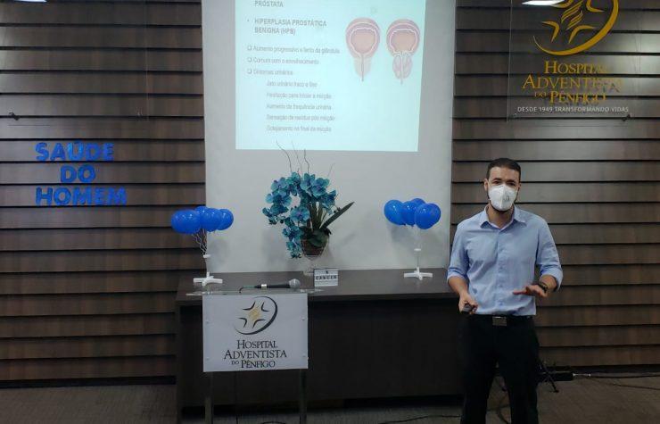 Novembro Azul: Hospital Adventista do Pênfigo fornece exame gratuito para funcionários