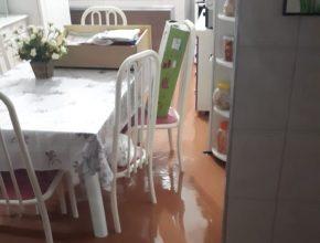 Calebes ajudam moradores de Três Rios após enchente avassaladora no último dia 11.