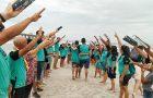 Jovem conhece a Missão Calebe através de sua vizinha e aceita o batismo