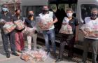 Projeto social distribui 70 toneladas de alimentos a famílias afetadas pela pandemia