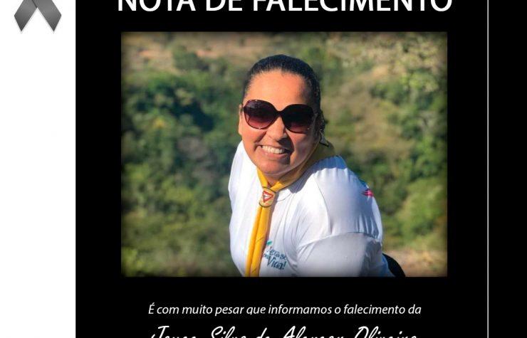 Nota de Falecimento – Joyce Silva de Alencar Oliveira
