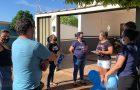 Membros em Guaíra realizam serenata para recuperados de Covid-19