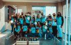 Voluntários dedicam férias em comunidade de Araucária